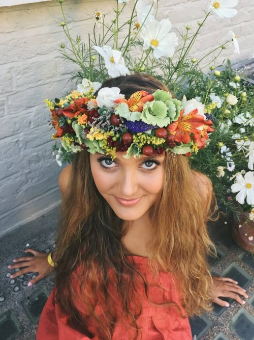 Flower Crown for Wedding Bride