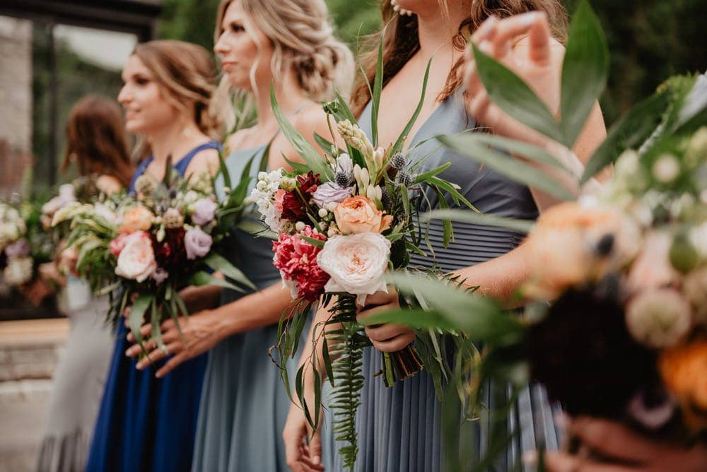 bridal wedding bouquets in Cotswolds