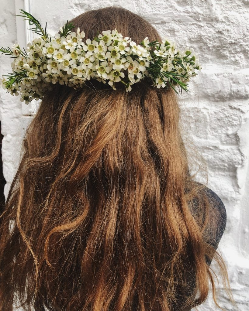 bridesmaid crown in Cotswolds