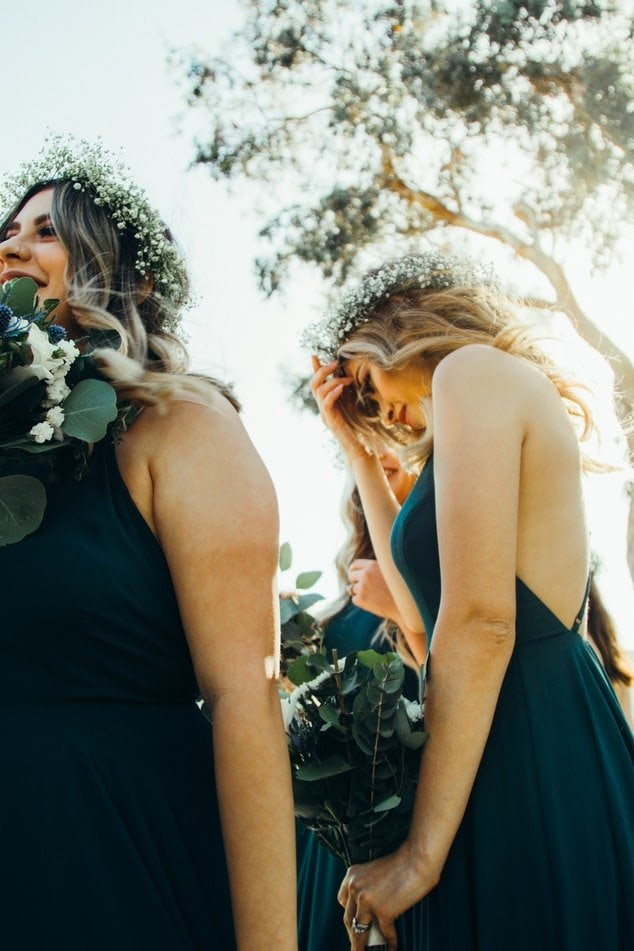 bridesmaid crowns cotswolds