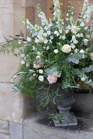 Flower Urn in Cotswolds