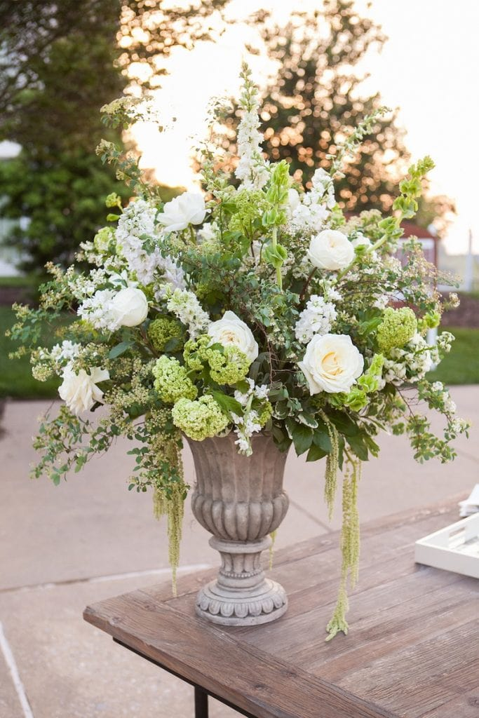 Wedding Flower Urns