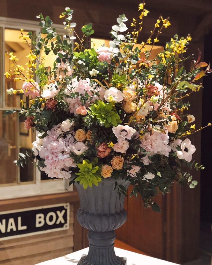 Wedding Flower Urns Cotswolds